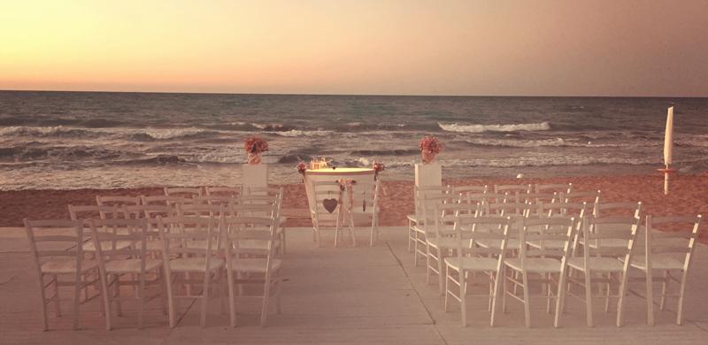 Matrimonio Simbolico In Spiaggia : Rito simbolico matrimonio in spiaggia hoop design