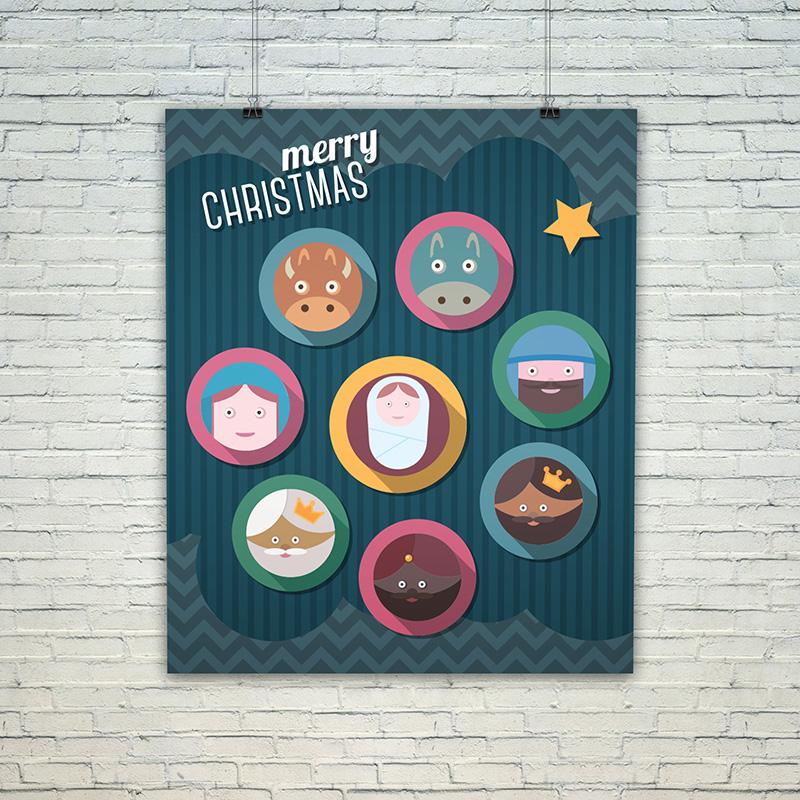 merry-christmas-flat